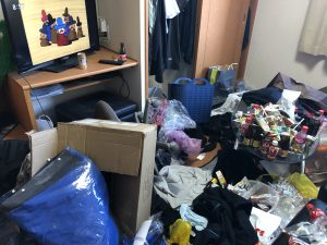 佐賀市で1人暮らしの部屋の片づけお手伝いをしました。