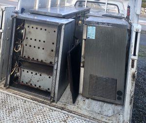 佐賀市の飲食店から業務用冷蔵庫、製氷機の回収をしました