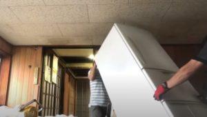 佐賀で冷蔵庫の回収処分を迅速かつ丁寧に行いました。